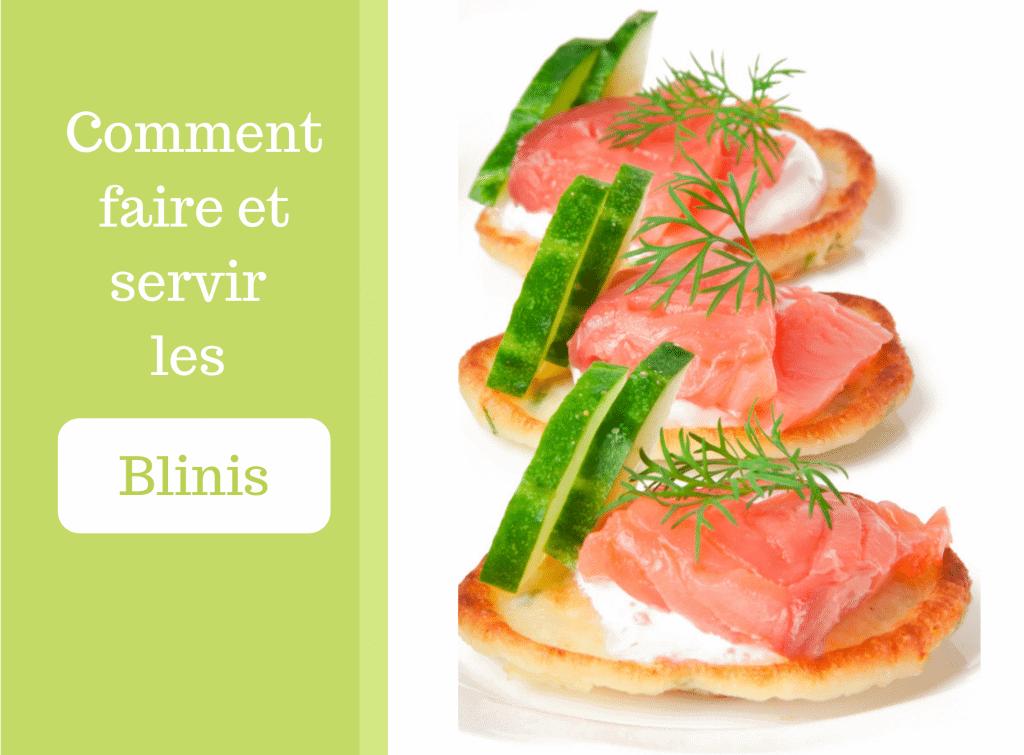 Comment faire et servir les blinis - Préparation - cuisinier minimaliste
